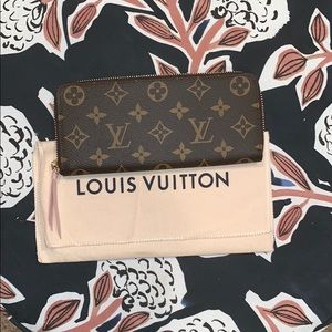 LV Clemence Wallet with Ballerine Interior